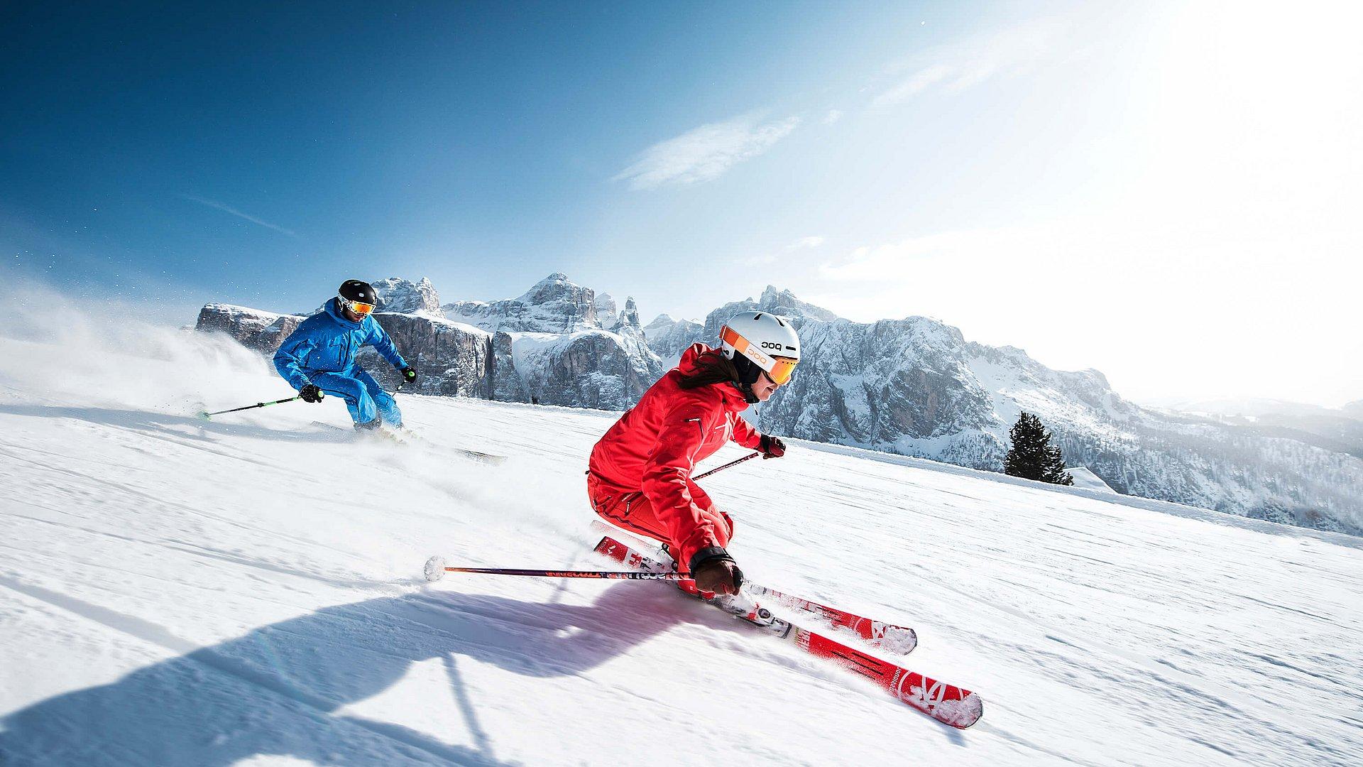 Skiing holidays  Hotel Stres